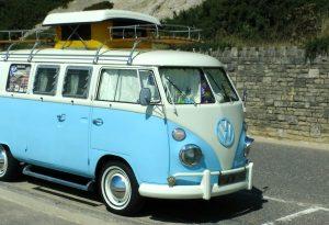 Classic campervan VW