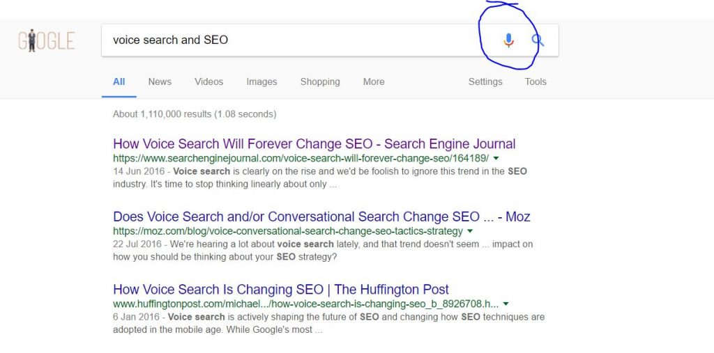 How does Voice search affect your Search engine optimisation 2017