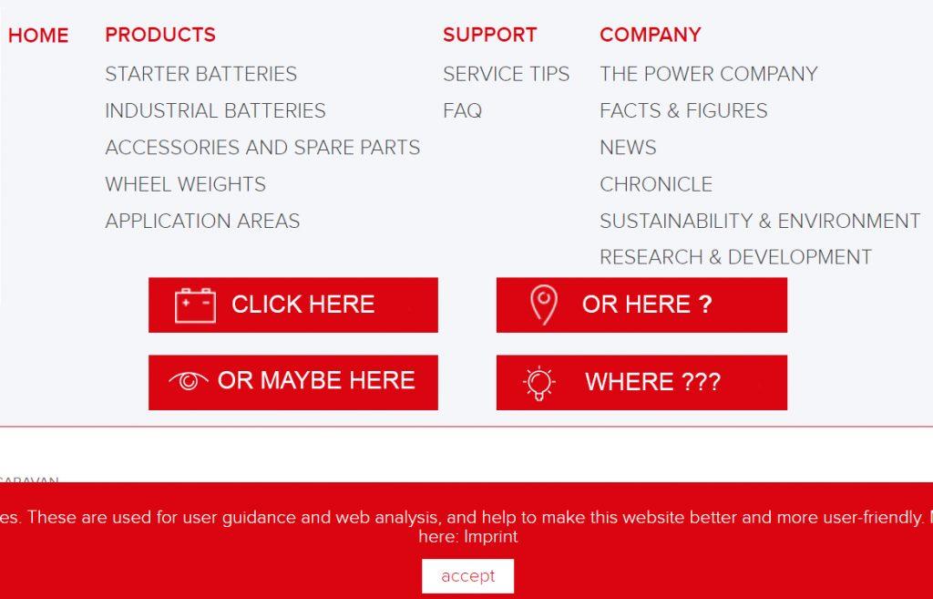 Which button do you click