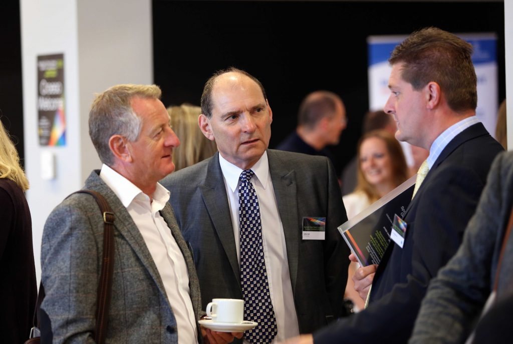 What is networking - Three men networking