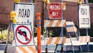 Road blocks on the customer journey